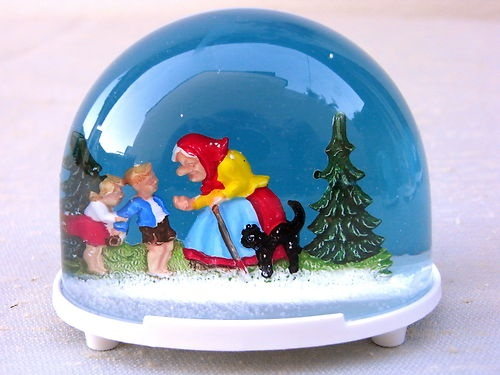 Schneekugel Märchen , Hänsel und Gretel
