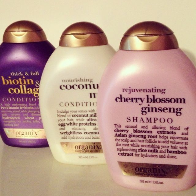 These are the best shampoo/conditioners I've ever used