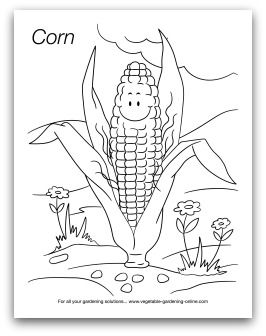 97 best Kids' Printable Garden Worksheets, Coloring Pages