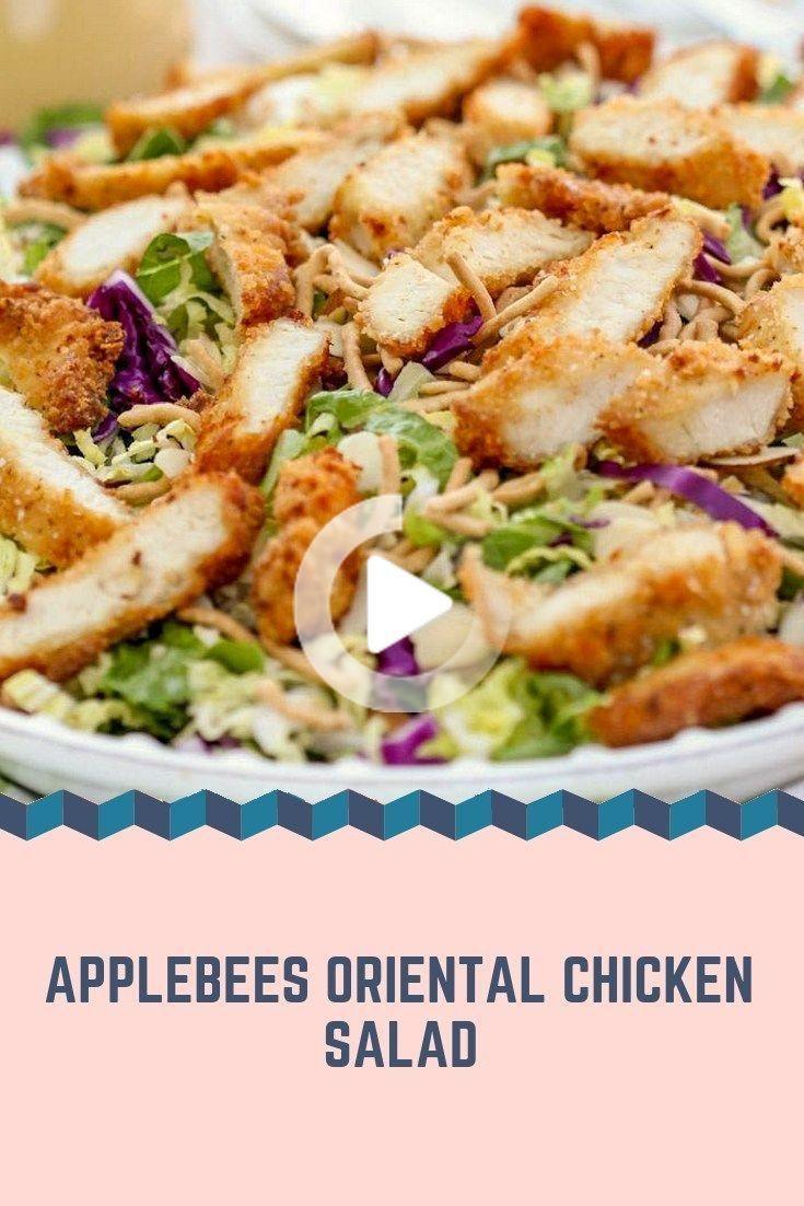 Recipes-Yummy  Applebees Oriental Chicken Salad  -2062