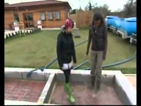 Eco friendly, flood relieving, sustainable paving and water recycling.