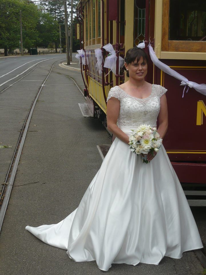 Another bride safely delivered.