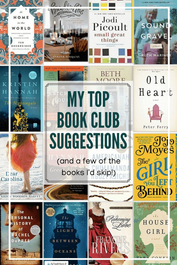 My Favorite Book Club Suggestions & the Books I d Skip