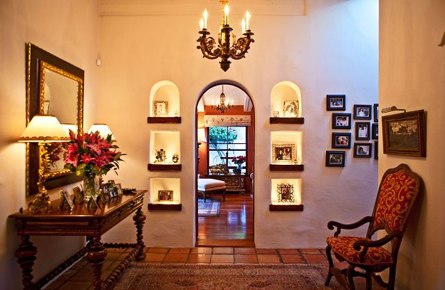 17 best images about wrought iron niche inserts on for Hacienda design ideas