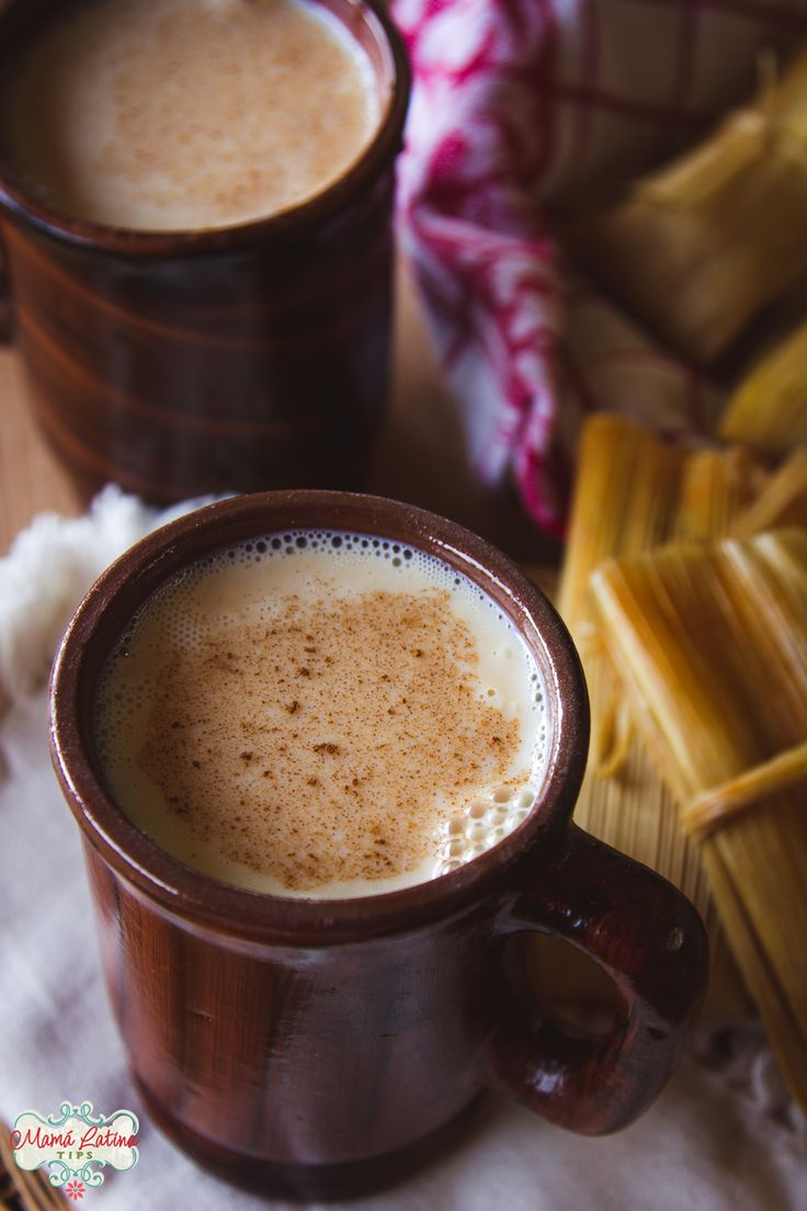 This caramel atole requires just four simple ingredients, making it easy and fast. The perfect accompaniment to tasty tamales or pan dulce. Authentic Mexican Recipes, Mexican Food Recipes, Atole Recipe, Pork Tamales, Mexican Drinks, Comida Latina, Pan Dulce, Caramel Recipes, Non Alcoholic Drinks