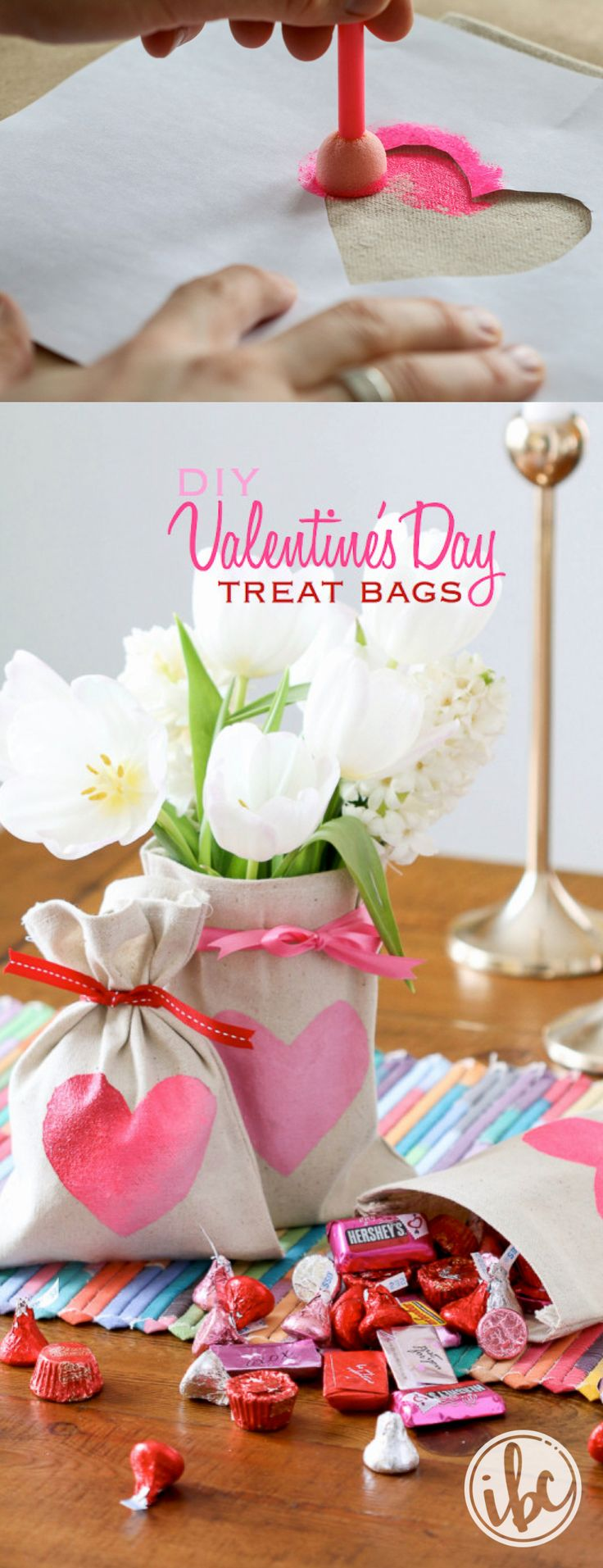 Valentine's Treat Bags | Inspired by Charm