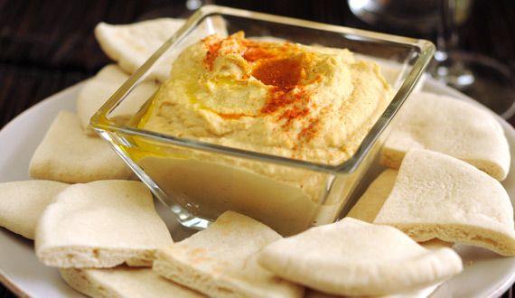 Hummus, Directamente desde el Medio Oriente con todo su sabor.