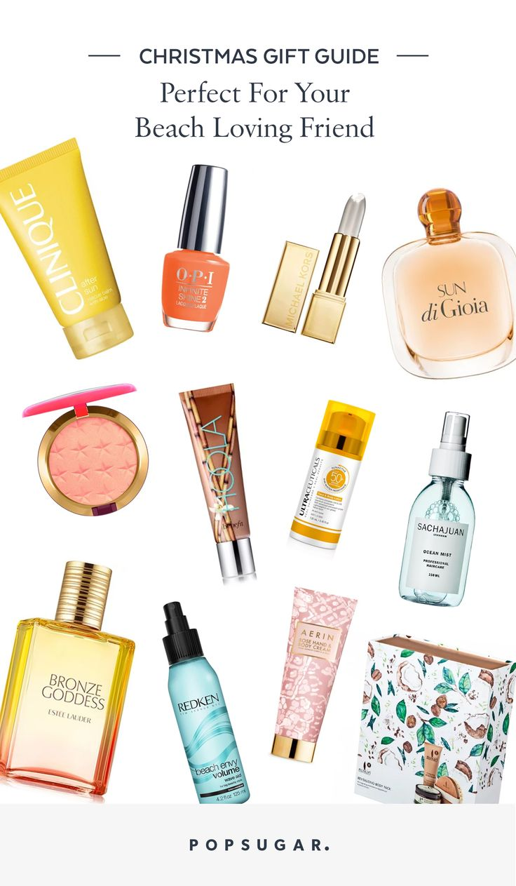 Popsugar Christmas Gift and Present Guide For the Beach Lover
