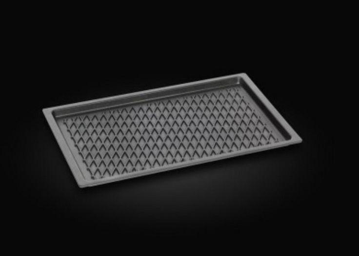 AMT Gastro Pfanne Induktion mit BBQ Grillboden 53 x 33 cm