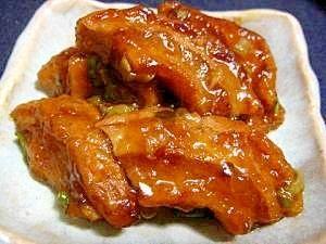まるで豚バラ肉★車麩の角煮風 レシピ・作り方 by yuki-.-|楽天レシピ