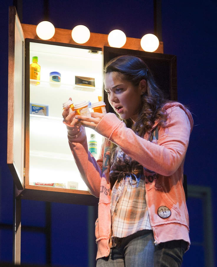 "Andrea Ross as Natalie in ""Next To Normal"" at Arizona Theatre Company."