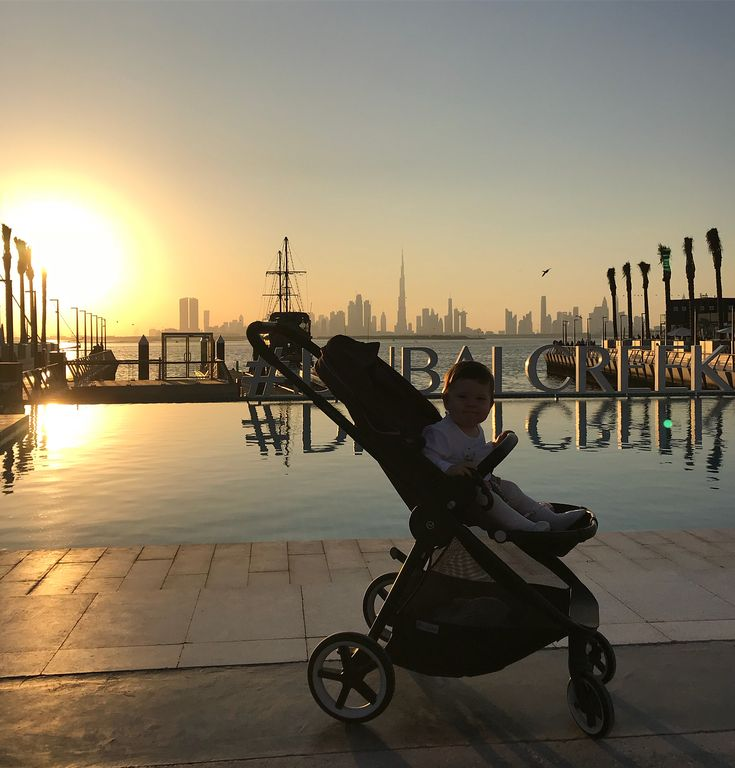 Rich Kids Spotted   Image / Video  Walking in to 2018 with familia #dubaicreekharbour #dubai #uae #na #2018 #january1st #richkidsofdubai