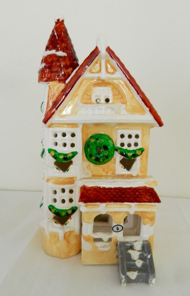 rare retired dept 56 1980 original snow village snowhouse victorian christmas diddy did it pinterest department 56