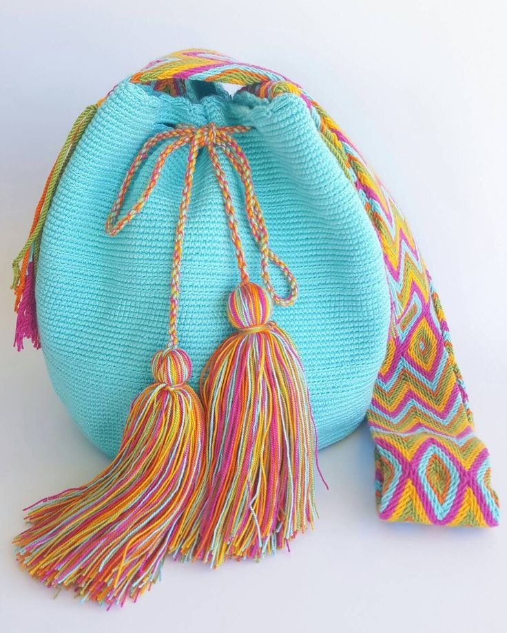 Wayuu Bag-Blue Sky - Alynshop