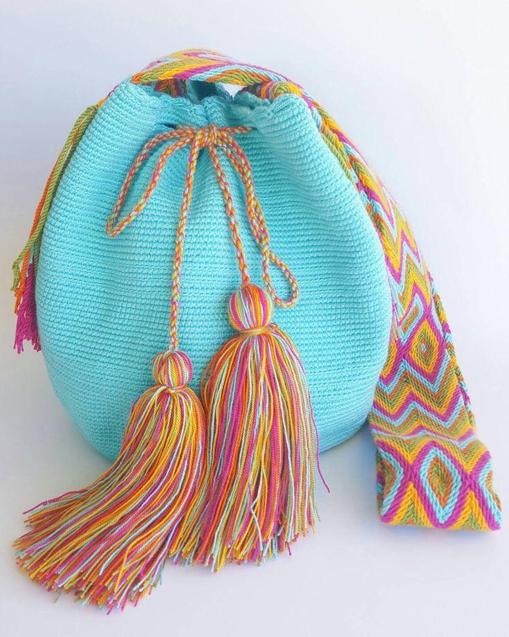 Wayuu Bag-Blue Sky - Alynshop
