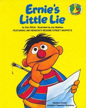 Ernie's Little Lie (Sesame Street Start-to-Read Book):