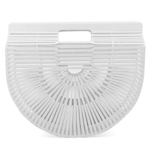 BAMBOO CLUTCH BAG (WHITE)  www.minimalistjewellery.com.au    #minimalistjewelry #minimalistjewellery #minimalist #jewellery #jewelry  #jewelleries #jewelries #minimalistaccessories #bangles #bracelets #rings  #necklace #earrings #womensaccessories #accessories