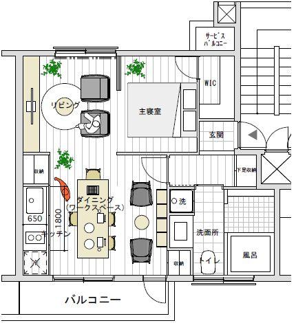 小さなキッチン | 住まいのコラム|無印良品の家