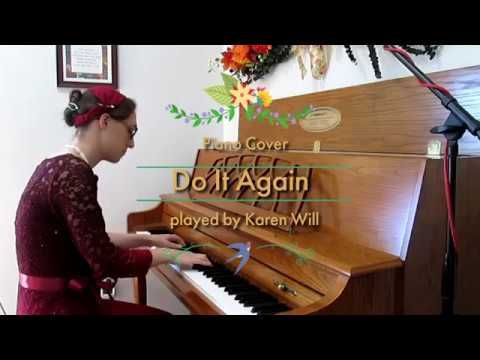 Do It Again ~ Elevation Worship - Piano Cover Instrumental   Karen