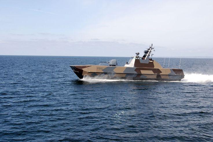 Norway: Skjold class patrol boat - Speed +60kts!