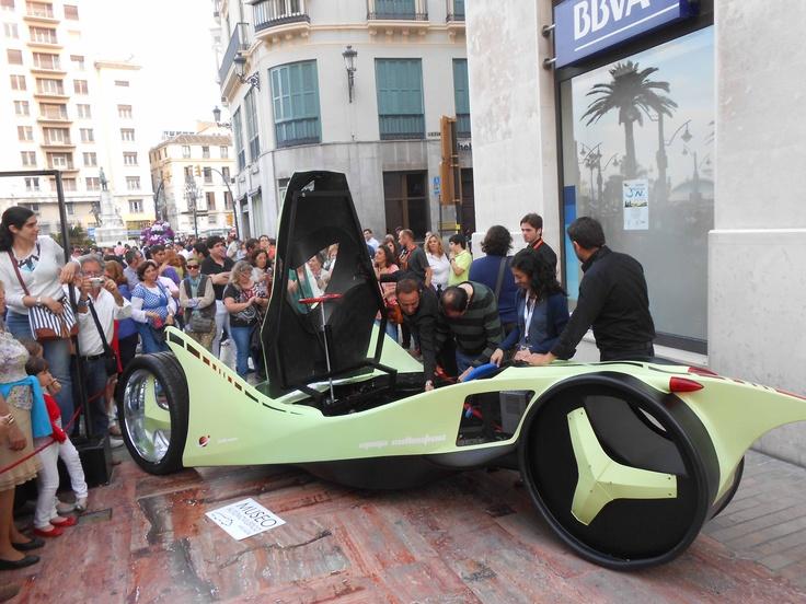 Prototipo de nuesto coche eléctrico