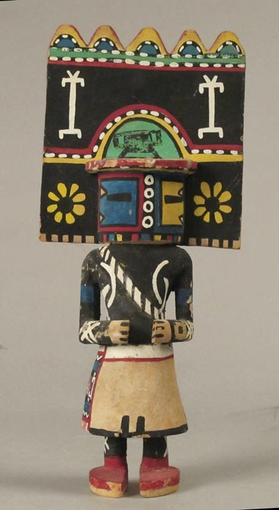 how to make a kachina doll out of clay