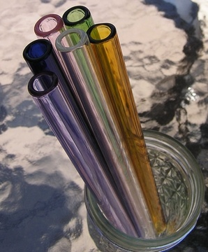 $8 Reusable glass straws {want some!}