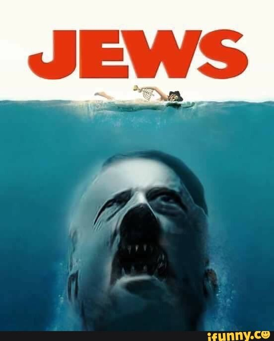 """I did NAZI that coming ( said the jew who was eaten !!! ) ps = The predator got sick after eating the Jew as the Jew's expiry date was over due / Jew !! and being pregnant and shouldn't have been eaten !! as she pleaded """" Jew can eat me, but JEW shouldn't eat my baby !! """" ( hard to separate them though, to be fair to this predator !!! ) ☑️"""