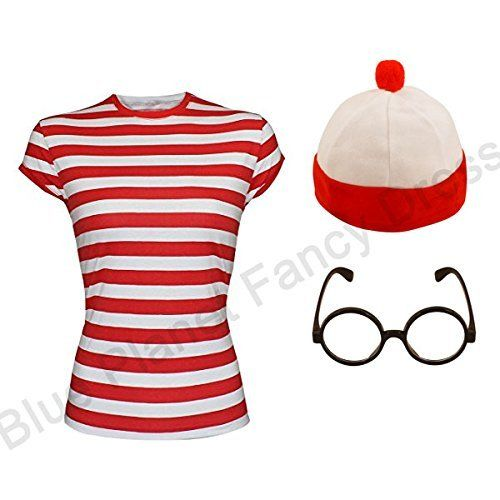 wheres wally fancy dress adult