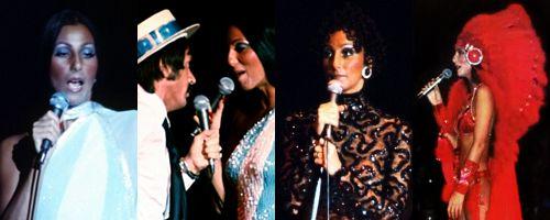 Cher during her 1977 Sonny & Cher Tour