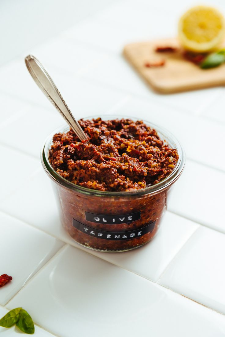 Sun-Dried Tomato & Basil Olive Tapenade (5 Minutes!)