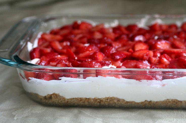 easy graham cracker crust desserts baker homemaker sensational strawberry dessert