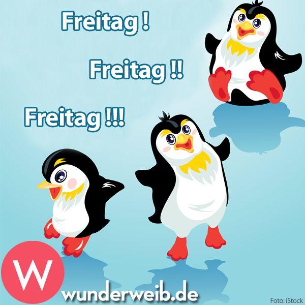 <p>Freitag! Freitag!! Freitag!!!</p>
