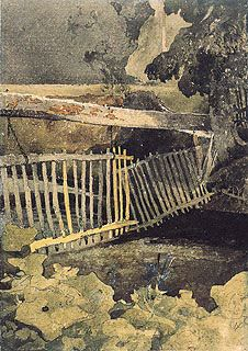 John Sell Cotman - The Drop-Gate, Duncombe Park