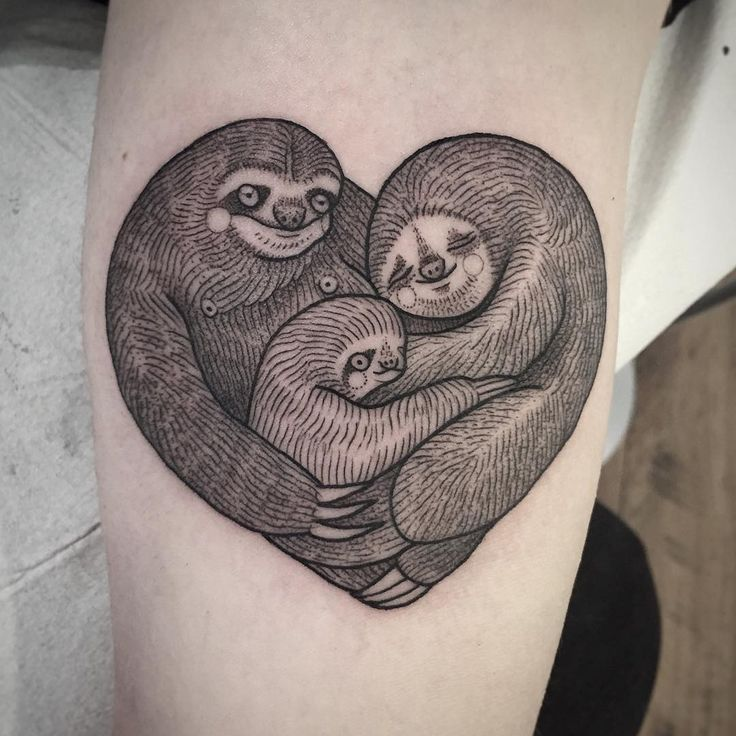 best 25 sloth tattoo ideas on pinterest. Black Bedroom Furniture Sets. Home Design Ideas