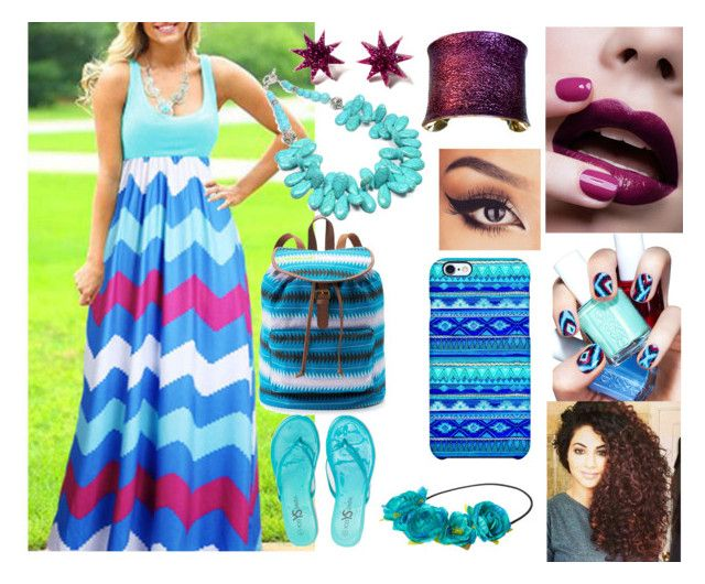 Untitled #1351 by mermaids533 on Polyvore featuring polyvore, fashion, style, Yosi Samra, Mudd, UNEARTHED, JEM, Uncommon and Essie
