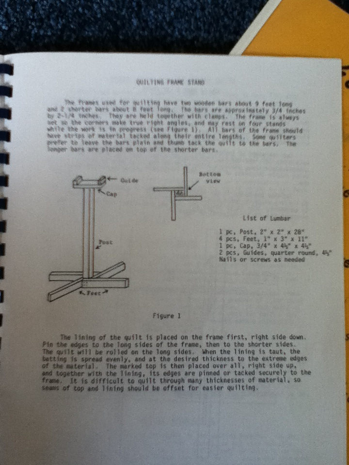 grace quilting frame instructions