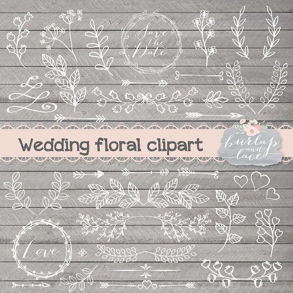 Rustic Wedding Clipart By Burlapandlace On Creative Market Digital Graphics Ideas Website