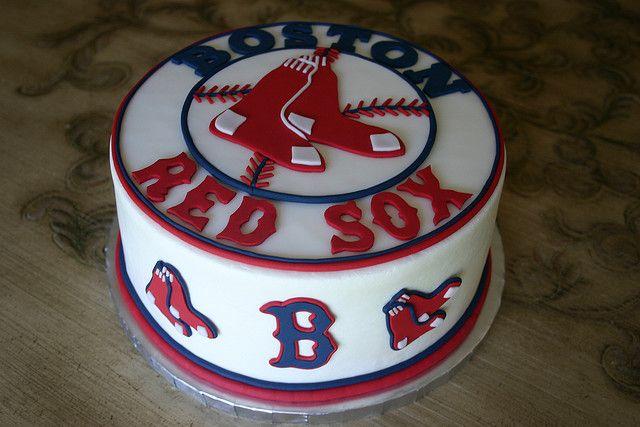 Boston Red Sox Cake