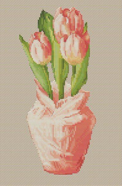 Тюльпаны1. Дизайнер: Алиса Окнеас
