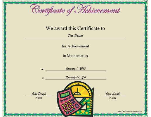 math achievement essay A math teacher explains how she emphasizes effort over achievement.