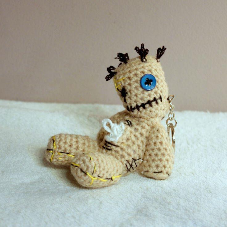 Amigurumi Korn Issues #amigurumi #amigurumis #korn #issues #man #bear #szydełkowy #crochet #crocheting #brelok  #keychain