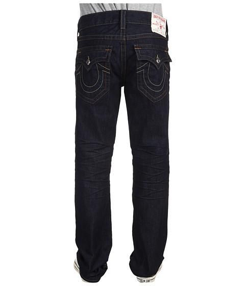 Free overnight shipping on Clothing! Don True Religion Brand Jeans® for classic cool. The Ricky jean rocks a low rise and straight leg. Inglorious is a dark blue wash with creasing on the... More Details