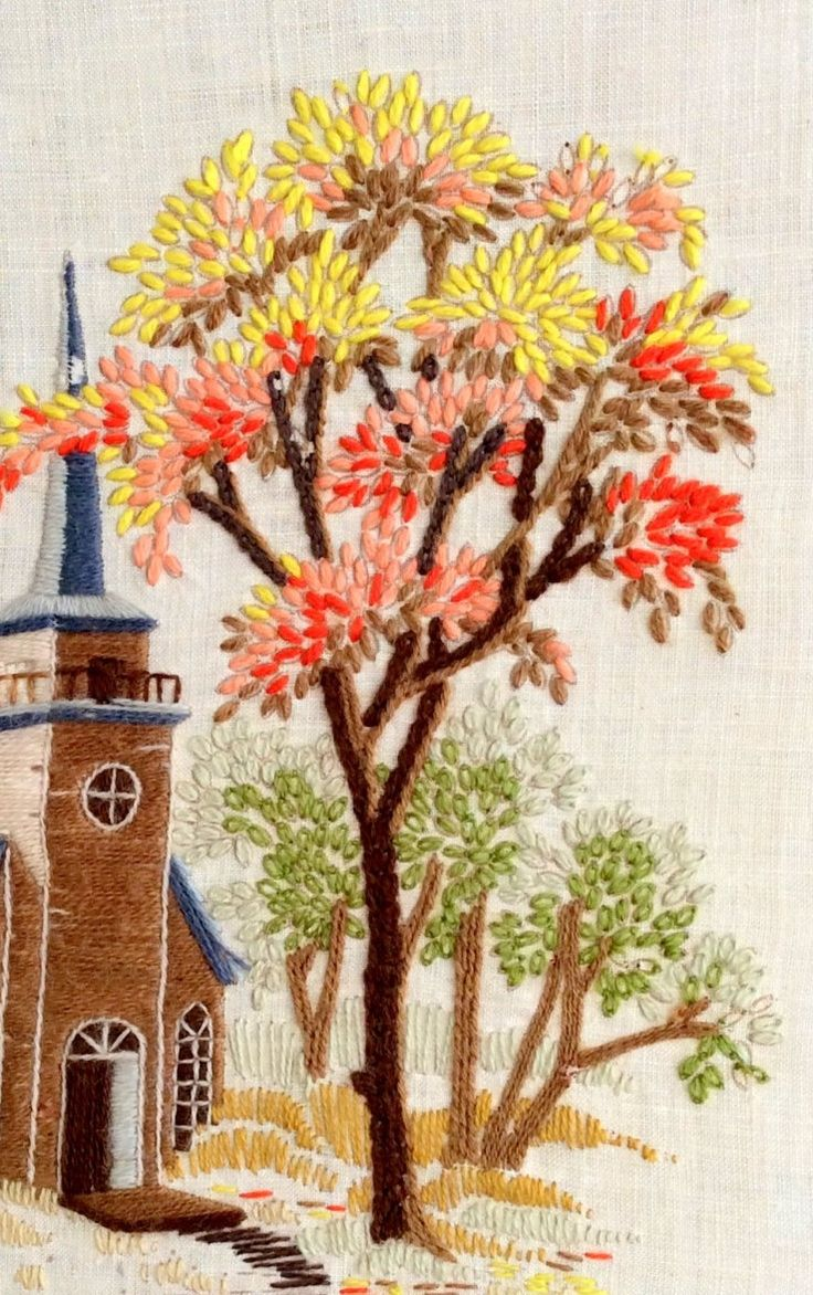 Embroidered Church.