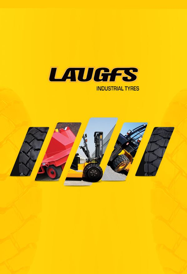 LAUGFS Industrial Tyres - Corporate Profile on Behance