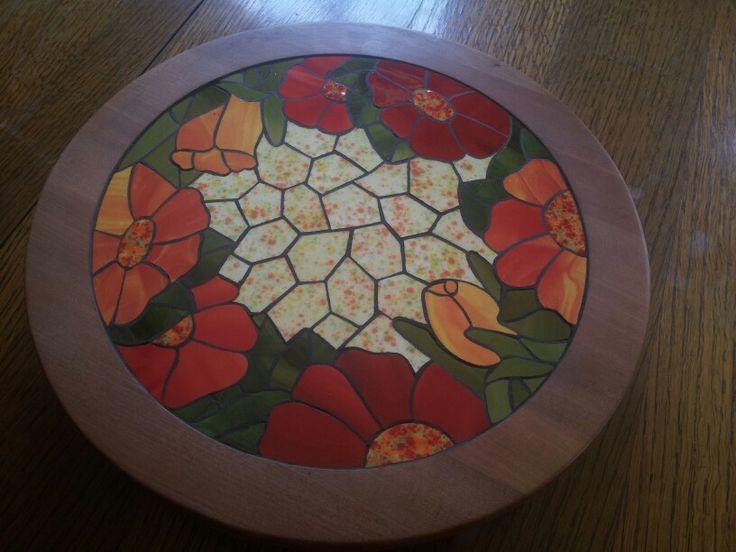 Mesa mosaico | Mesa mosaico | Mesa mosaico, Mosaicos ...