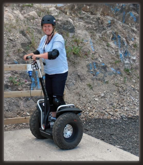 I love Segway's! So much fun and now I really want one.