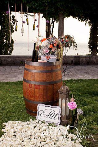 свадьба в Черногории, декор церемонии
