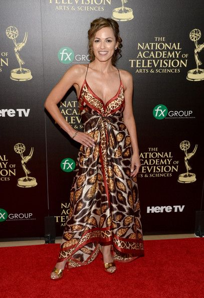 "2014 Daytime Emmy Awards - Actress Terri Ivens attends the ceremony.  She is best known for her portrayal of Simone Torres on ABC Daytime soap opera ""All My Children."""
