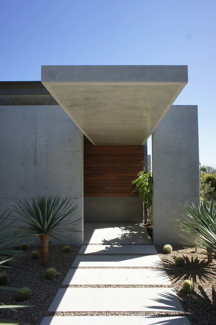 House design entrance - Popov Bass Architects Designed The Mosman House In Sydney Australia